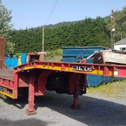 King Low Loader Trailer